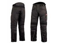 CORDURA MOTORCYCLE PANTS / TROUSERS-NEW SIDE BOSS-BLACK