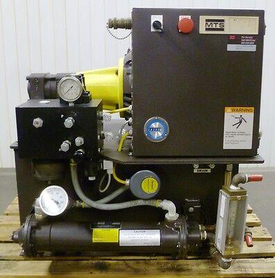 Mts 506.02 6.4 Gpm 3000psi Hydraulic Power Supply Fatigue Tester Warranty Hpu