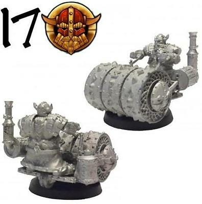 Star Player Miniatures Dwarf Steamroller No 17