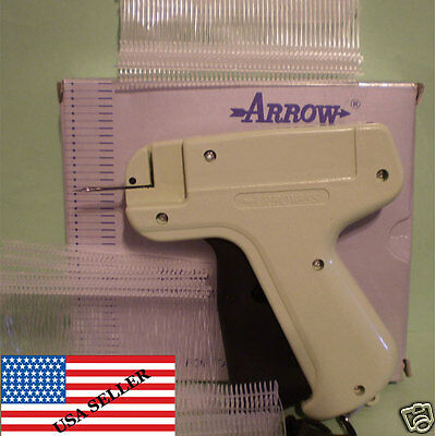 CLOTHING PRICE LABEL TAGGING TAG TAGGER GUN WITH 1000 BARBS