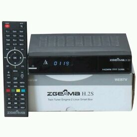 Zgemma H2S/ Twin Tuner Satellite/ Openbox/Skybox/Android tv box. With 12 Months Free Gift Warranty