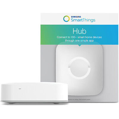 Samsung SmartThings Hub / Easily Control Your Home From Anywhere | F-HUB-US-2