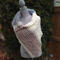 Hypoalergenic Handknitted Shawl - Perfect Gift