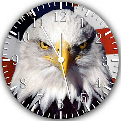 American Eagle Frameless Borderless Wall Clock Nice For Gifts or Decor Z144