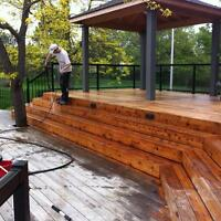 EXTERIOR PAINTING--DECK & FENCE SPECIALIST