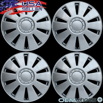 4 NEW OEM SILVER 16