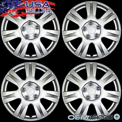 - 4 NEW OEM SILVER 15