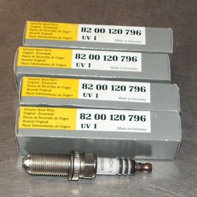 4x RENAULT CLIO MK1 1.2 variant2 ORIGINALE BOSCH SUPER PLUS SPARK PLUGS