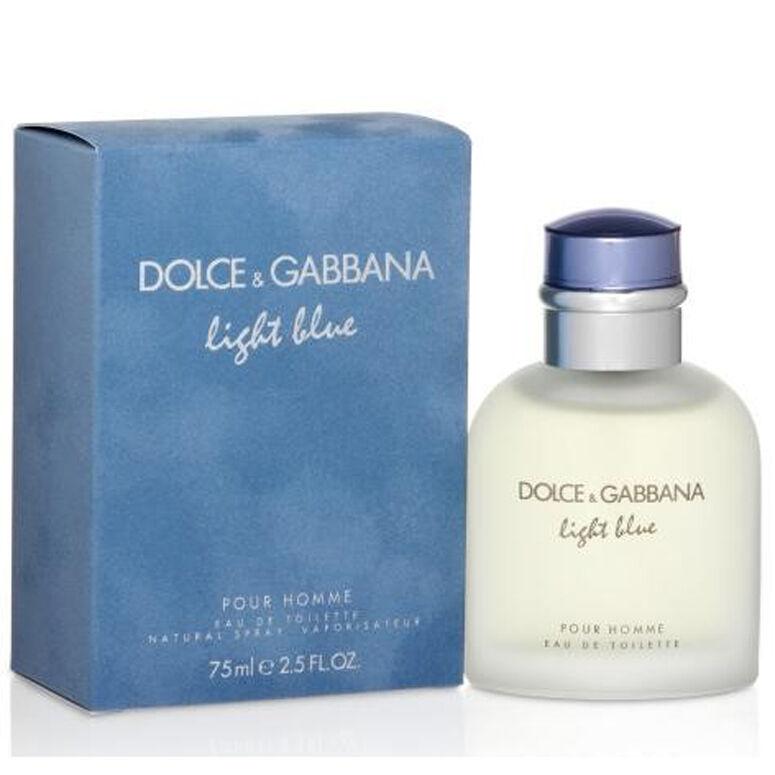 Light Blue Homme De Dolce Gabbana Colonia Perfume 75 Ml Man Uomo Him Ebay