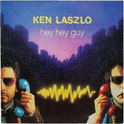 Ken Laszlo Hey Hey Guy (Vocal Extened) , (Dub Vesion) Italian 1984 12