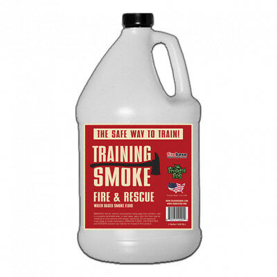 Froggy's Fog Training Smoke Fire and Rescue Water Based Smoke Fluid - Gallon