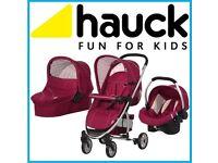 Pram stroller pushchair car seat 6 months old was £400 now£120