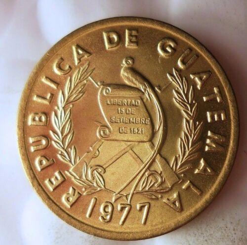 1977 GUATEMALA CENTAVO - AU/UNC  - From Mint Roll - BIN #EEE