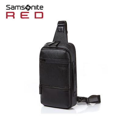Samsonite RED hanfoi sling bag DO009003 Free Gift and Free Shipping