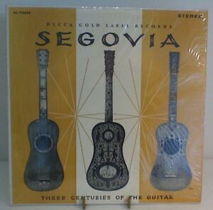 Andres Segovia Three Centuries of the Guitar vinyl record