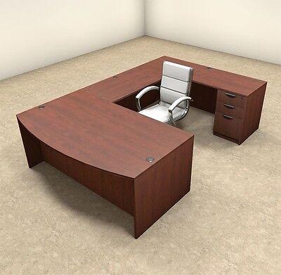 4pc U Shaped Modern Executive Office Desk Ot-sul-u2