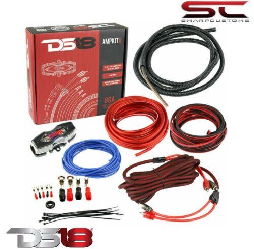 DS18 AMPKIT8 8 Gauge Amplifier Installation Kit Advance 8-GA Installation Kit