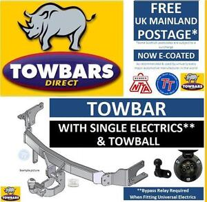 Towbar for Vauxhall Astra H (MK5) Van 2006-2014 & Estate 2004 to 2010 Tow Bar