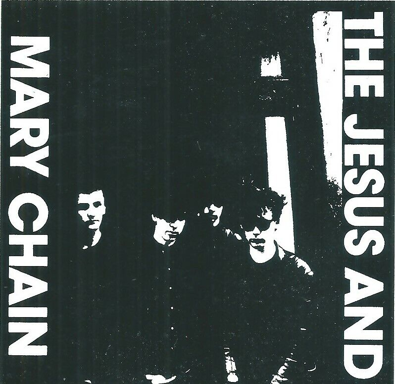 JESUS & THE MARY CHAIN  - Rare Band Image Original 1980's Sticker - Mint