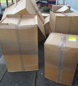 Large cardboard boxes approx x 18