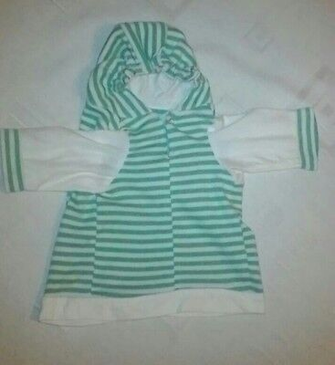 Green & White Stripey Jumper Perfect Winter Christmas Gift Dogs & Pets (Small)