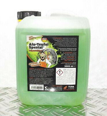 5L ALU-TEUFEL SPEZIAL Felgenreiniger GRÜN ( 5 Liter ) TUGA-CHEMIE