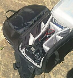 Lowepro Fastpack 250 - Black SLR Camera Bag with Laptop compartment