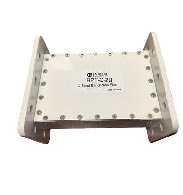 New Norsat Bpf-c-2u C-band Band Pass Filter 3.625 - 4.20 Ghz