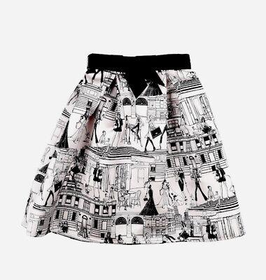 The Cutest!!! •••ELISABETTA FRANCHI Girls 4Y Skirt NEW•••