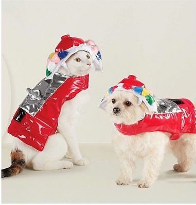 Bubble Gum Machine Halloween Costumes (Hyde & Eek Bubblegum Machine Pet Dog Cat Costume Halloween)