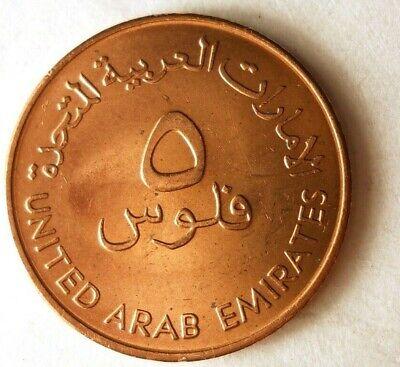 Used, 1973 UNITED ARAB EMIRATES 5 FILS - AU - FAO Islamic Coin - Free Ship - BIN #FFF for sale  Olympia