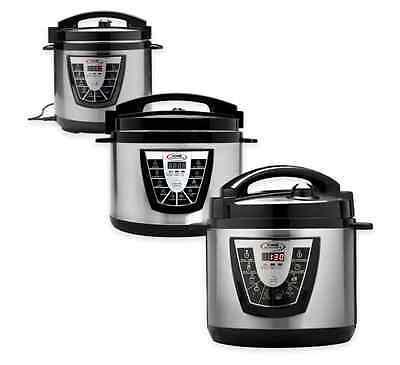 Canning Pot (6 8 10 Quart Electric Power Pressure XL Slow Cooker Crock Pot Canning Steamer)