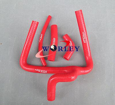 Fit Honda CR250 CR250R 2002-2008 02 03 04 05 06 07 08 silicone radiator hose red