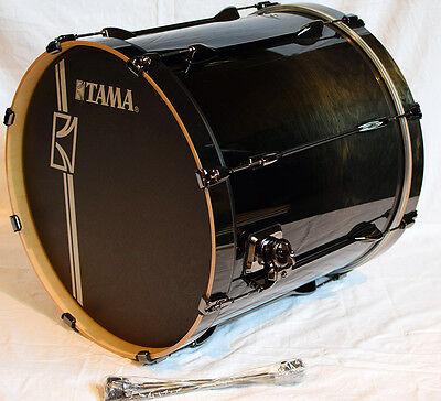"Tama Superstar Custom Bassdrum SLB22XZBN-TBF 22x20"" Trans Black Fade"