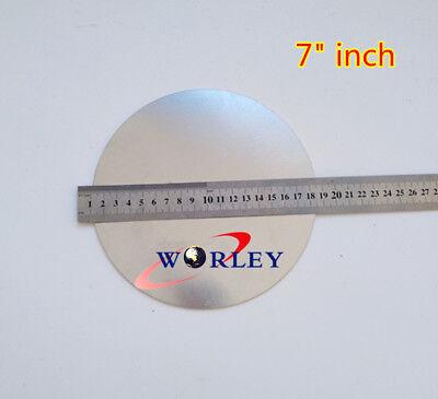 Aluminum Disc Circle Blank Plate Sheet Round 180mm Diameter 2mm Thick 7 D