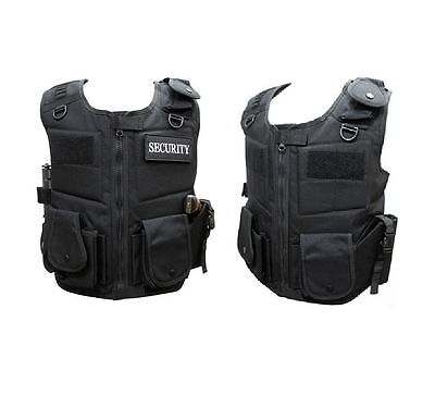 Anti-Stab Vest Body Armour Protection Safe-Guard Anti Knife Resistant M_o