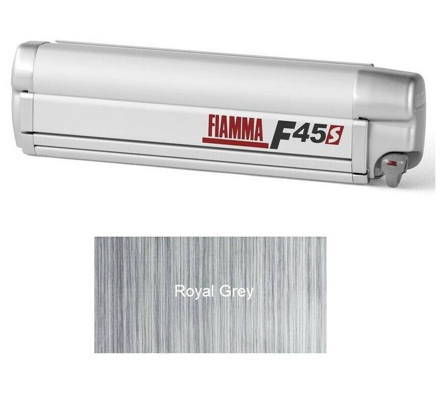 Fiamma F45S awning. Vauxhall Vivaro (2015-19) 260cm ...