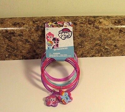 My Little Pony Jewelry (My Little Pony Jewelry Bangle Bracelets With Charms)