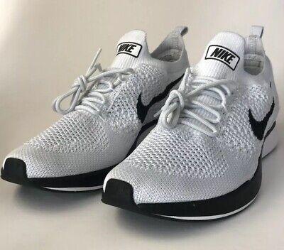 63db4333e617 Nike Air Zoom Mariah Flyknit Racer 918264-002 Pure Platinum White Mens Size  10