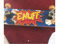 Skateboard with new grip tape pic