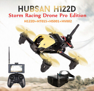 Hubsan H122D Pro X4 Rage 5.8G FPV Micro Racing Drone Quadcopter 720P+Goggles