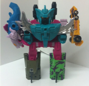TRANSFORMERS G1 COMBINER TEAM SEACONS BRAWL DRAGSTRIP