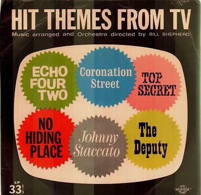"Bill Sheperd Orchestra(7"" Vinyl P/S)Hit Themes From TV-Rainbow-EP/RU 1-VG/Ex-"