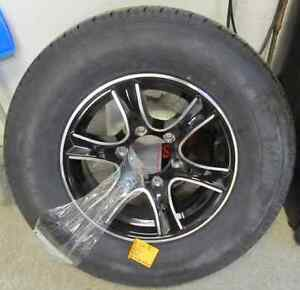 "Rim is 6 bolt 15"" tire is 225/75R15 Prince George British Columbia image 1"