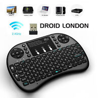 BACKLIT Keyboard & Touchpad Mouse *Rechargeable* Great 4 TV Box