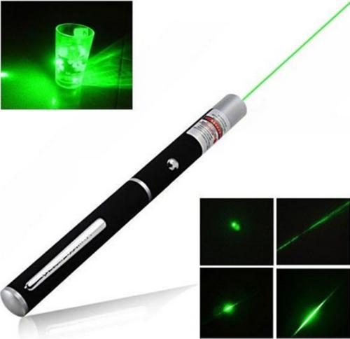 Military High Power 1mW 532nm Green Laser Pointer Pen Visible Beam Light Lazer