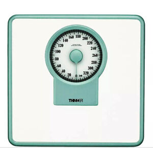 Large Rotating Dial Precision Bathroom Scale - BRAND NEW THINNER