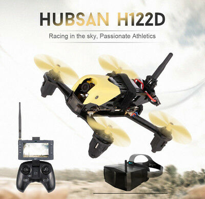 Hubsan H122D X4 STORM 5.8G FPV Micro Racing Drone Quadcopter 720P CAM + Goggles