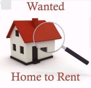 Looking for a house of 3 bedrooms. January 1st.