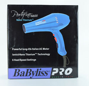 BaByliss Pro Portofino 6600 Hair Dryer
